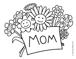 Mother S Day Coloring Pages For