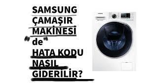 Samsung Çamaşır Makinesi dE Hata Kodu Nasıl Tamir Edilir? Hangi Parçalar  Değiştirilmeli? - YouTube