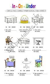 Preposition Chart For Kids Prepositions For Kids Esl Worksheet By Pepapelaez