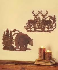 die cut wildlife wall art