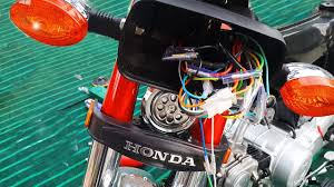 complete cd 70 honda motorcycle wiring how to do it