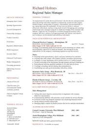Regional Sales Manager resume ...