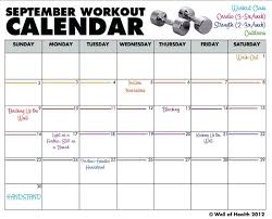 Workout Schedule Template Free Word Excel Format Intended For ...