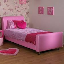 single beds for girls. Perfect For A U0026 I Beds Azure Girls Pink 3Ft Single Faux Leather Bed  To For