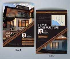 Home Flyers Template Luxury Real Estate Brochure Templates Luxury Homes Flyer