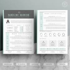 Modern Resume Template Oddbits Studio Free Download Resume Template Cv Template Cover Letter For Word 4 Page Pack
