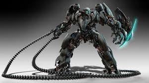 futuristic robots hd background wallpaper 35638