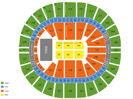 Key Arena Seating Chart And Tickets