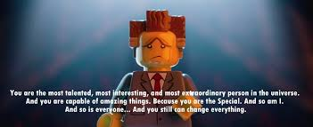 Motivational Movie Quotes Fascinating Quote Of The Lego Movie QuoteSaga