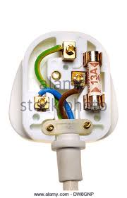 wiring plug stock photos wiring plug stock images alamy uk electric plug showing correct wiring stock image