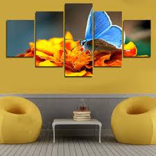 Yellow Accessories For Living Room Living Room Orange Wallpaper Flaoting Shelves On Corner Room