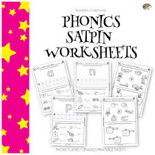 Each phonics game gets progressively harder and teaches you a range of skills, from segmenting and blending, word comprehension, grapheme recognition, pseudo words and more. Phonics Satpin Worksheets By Koodlesch Teachers Pay Teachers