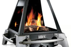 weber flame gas outdoor fireplace uncrate