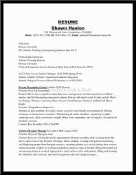 Job Resume 57 Trainer Resume Sample Personal Trainer Resume