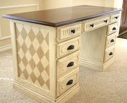 painted office furniture. Hand Painted Office Desk Makeover. Furniture A