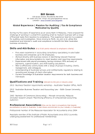 Example Resumes Australia Examples Of Resumes