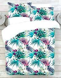 leaf comforter set banana leaf bedding tropical leaf bedding palm duvet cover set banana leaf bedspread leaf comforter