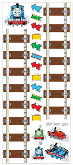 New Who Growth Chart Amazon Com New Thomas Tank Engine Growth Chart Wall Decals