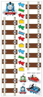 Thomas The Train Growth Chart Amazon Com New Thomas Tank Engine Growth Chart Wall Decals