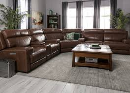 right reclining sectional living spaces