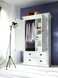 White Wardrobe Armoire Clothes Furniture  Closet With Drawers14
