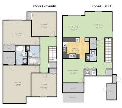 4 modern house plans two story for double story modern house plans