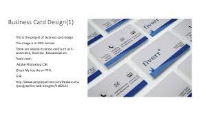 Business Card Design Presentation