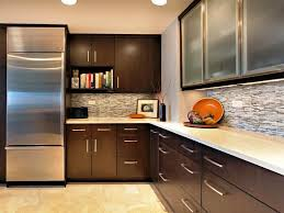 quartz countertops white brown cabinets