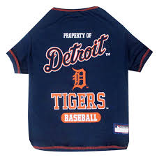 Navy Blue Detroit Jersey Tigers