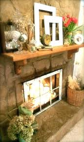 modern living room with brick fireplace. Brick Fireplace Decor Decorating Ideas Fantastic For An Unused Modern Living Room With