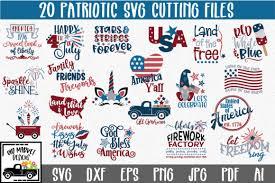 Svg files & cricut crafts. Download 4th Of July Svg Bundle