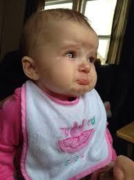 cutest sad baby face
