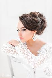 Hairstyle Brides 20 gorgeous bridal hairstyle and makeup ideas for women styles 6141 by stevesalt.us