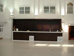 your reception area and in particular your reception desk