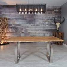 zen acacia live edge u leg 170 2 cm 67 in dining table