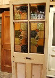 victorian antique stained glass front