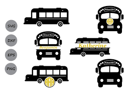 Upgrade to save unlimited icons. School Bus Monogram Graphic By Cosmosfineart Creative Fabrica