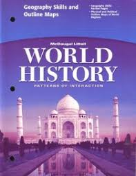 World History Patterns Of Interaction Pdf Impressive Geography Skills And Outline Maps For McDougal Littell World History