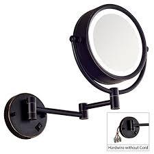 dailyart lighted makeup mirror wall