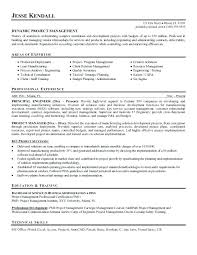 What Is Objectives On A Resume Project Manager Resume Objective