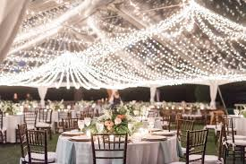 Lighting ideas for weddings Rustic Clear Wedding Reception Tent With String Lights And Round Banquet Tables Weddingwire 20 Romantic Wedding Lighting Ideas To Make You Swoon Weddingwire