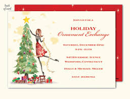 Holiday Party Invites|Invitations For Christmas Party