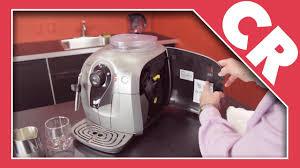 Philips Saeco Xsmall Red Light Saeco Xsmall Chrome Espresso Machine Crew Review