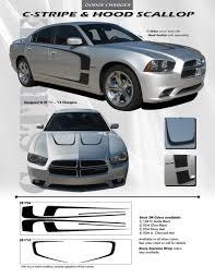 2011 Dodge Charger Vinyl Graphics C Stripes 2011 2012 2013 2014 3m Standard Wet Install