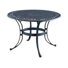 black wrought iron round patio table metal patio tables round wrought iron large garden table and