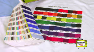 Dye Sublimation Color Chart Sublimation To Cotton Reveal S Film Working With Color Charts
