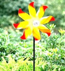 garden wind spinners metal