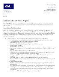 Remodeling Bid Proposal Template Under Fontanacountryinn Com