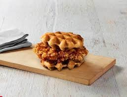Kfc Chicken Waffles Sandwich With Syrup Nutrition Facts