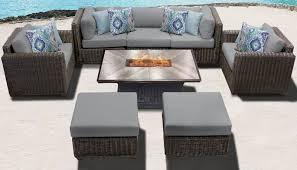 venice 8 piece outdoor wicker patio
